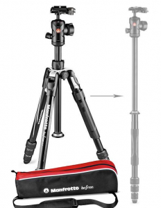Manfrotto Befree 2N1 Twist trepied cu posibilitate de monopied