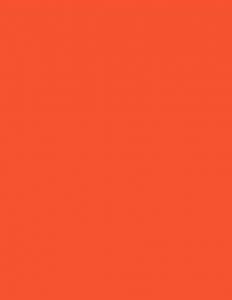 Colorama fundal PVC Tangarine