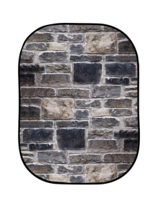 Lastolite fundal pliabil Red Brick/Grey Stone 1.5 x 2.1m