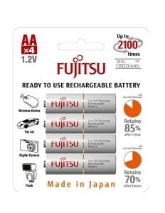 Fujitsu Acumulator White 4 x AA 1900MA