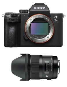 Sony KIT A7III cu Sigma 35mm F1.4 DG HSM Art Sony E