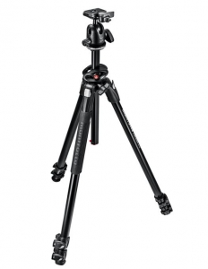 Manfrotto MK290DUA3-BH kit trepied cu cap bila, open box