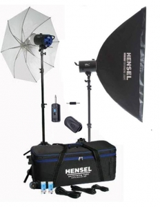 Hensel 2 x Integra300 kit blitz-uri