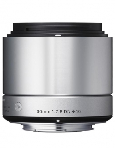 Sigma 60mm f/2.8 DN Art Argintiu Sony E