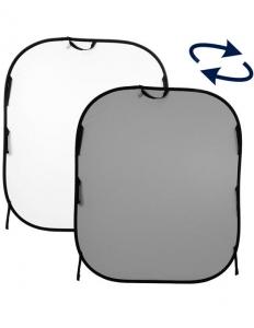 Lastolite fundal pliabil Alb/Gri 1.8 x 2.15m