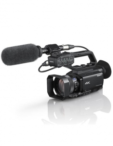 SONY HXR-NX80 camera video 4K