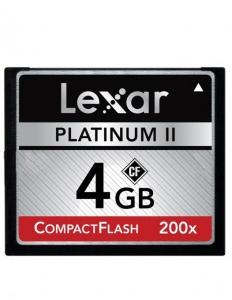 Lexar CF 4GB 200X card memorie