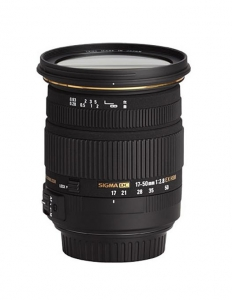 Sigma 17-50mm F2.8 EX DC OS HSM-Canon