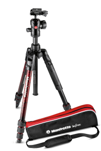 Manfrotto Befree advanced Twist Red