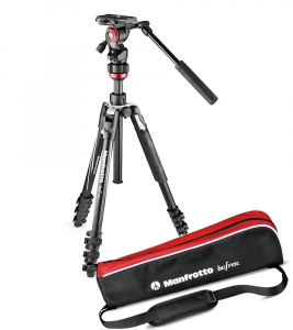 Manfrotto Befree kit trepied video