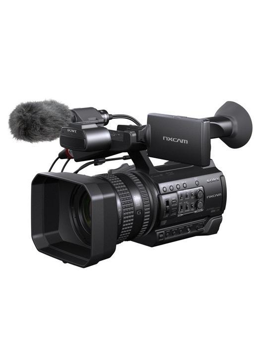 sony hxr nx100 camera video 4k handheld. Black Bedroom Furniture Sets. Home Design Ideas
