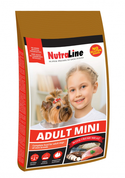 NUTRALINE DOG ADULT MINI 1 KG