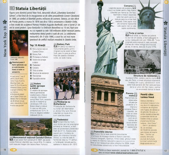 Top 10 New York Ghiduri turistice 2