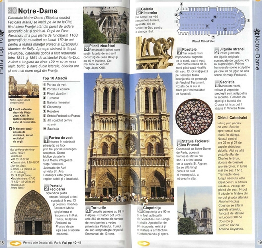 Top 10 Paris Ghiduri turistice