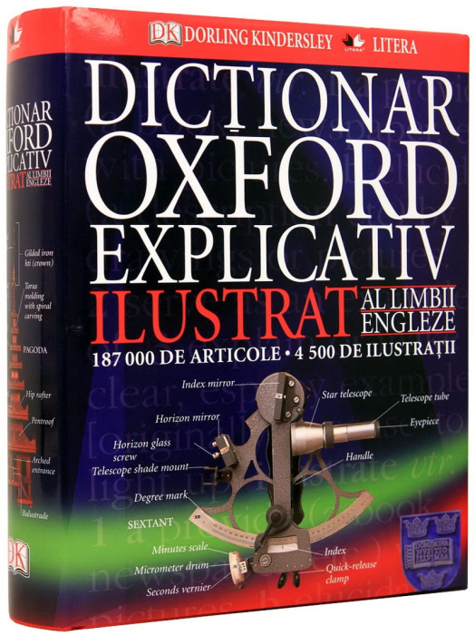 Dictionar Oxford Explicativ Ilustrat al limbii engleze 0