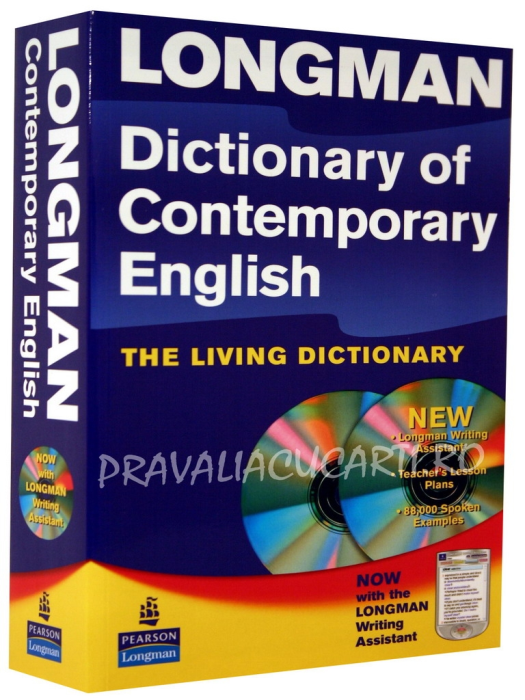 Longman Dictionary of Contemporary English - The Living Dictionary & 2 CD-Roms