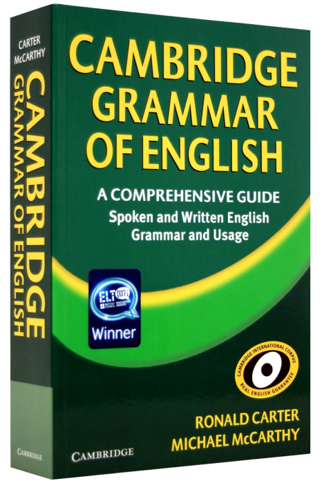 Cambridge Grammar of English Paperback 0