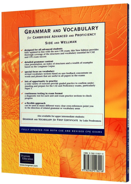 Grammar and Vocabulary for CAE (Advanced) & CPE (Proficiency) With Key New Edition 1