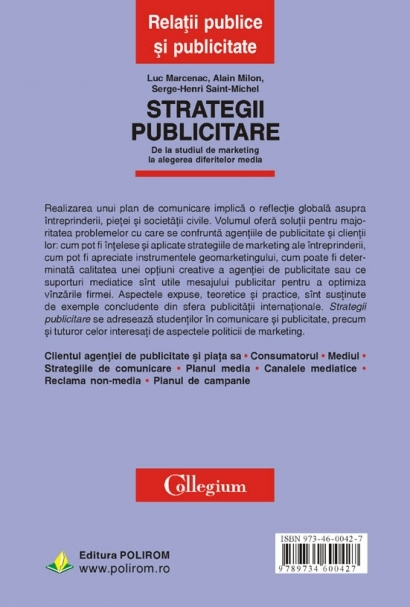 Strategii publicitare. De la studiul de marketing la alegerea diferitelor media 4