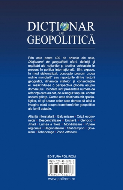 Dictionar de geopolitica 4