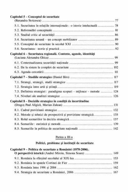 Politica de securitate nationala. Concepte, institutii, procese 2