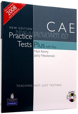 CAE Practice Tests Plus ) with Key and iTest CD-ROM and Audio CDs 0