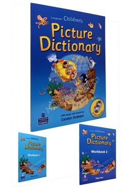 Longman Children's Picture Dictionary + 2 CD +Workbook 1-2 0