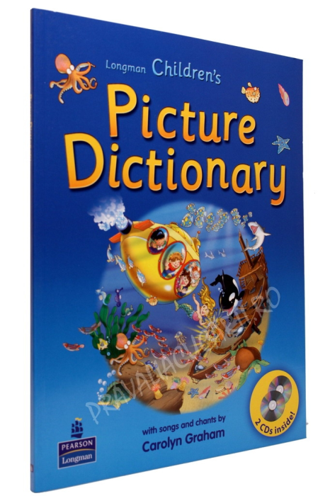 Longman Children's Picture Dictionary + 2 CD +Workbook 1-2 1