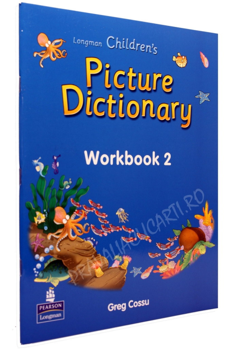 Longman Children's Picture Dictionary + 2 CD +Workbook 1-2 3