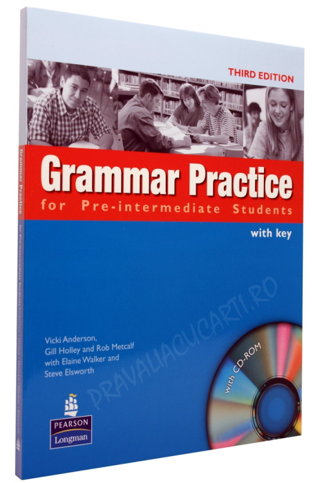 Grammar Practice for Pre-Intermediate Students Student's Book with Key and CD-ROM 0