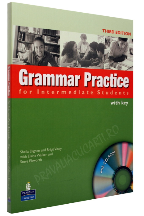 Grammar Practice for Intermediate Students Student's Book with Key and CD-ROM 0