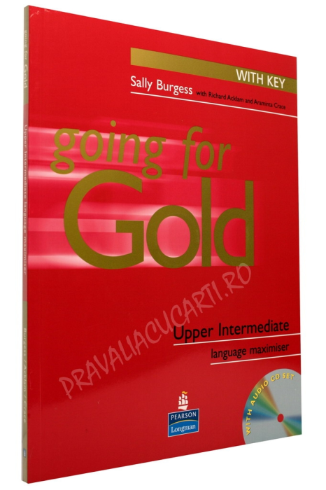Going for Gold Upper Intermediate Langauge Maximiser with Answer Key and Audio CD 0