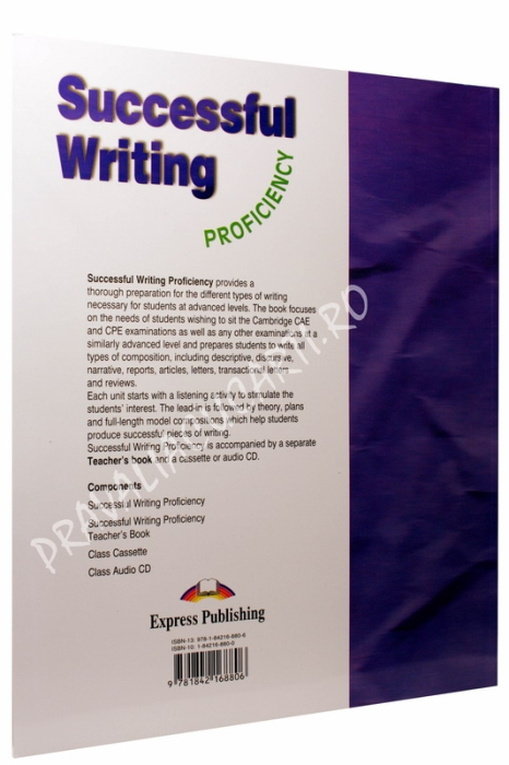 Successful Writing Proficiency. Student's Book