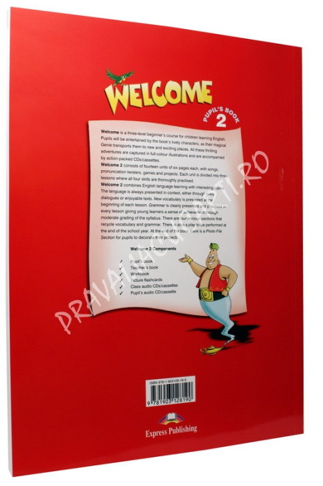 Welcome 2 Pupil's book 1