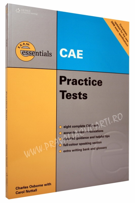 CAE Certificate Practice Tests with Key 0