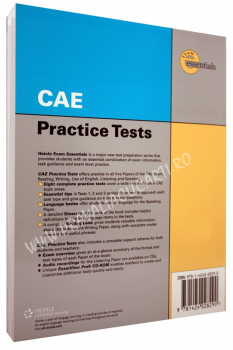 CAE Certificate Practice Tests with Key 1