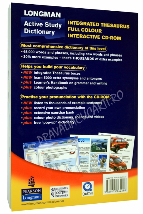 Longman Active Study Dictionary with CD-ROM 2