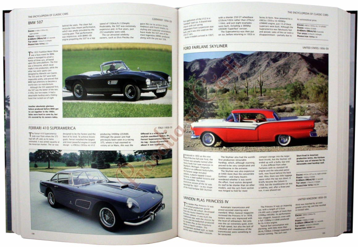 Encyclopedia of Classic Cars From 1890 To the Present Day 2