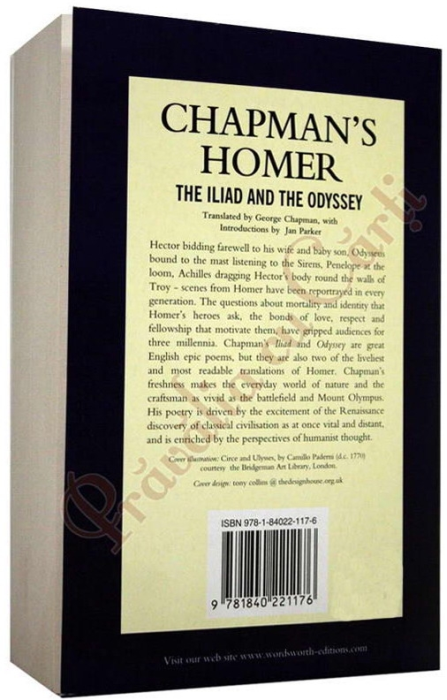 Chapman's Homer: The Iliad and the Odyssey 2
