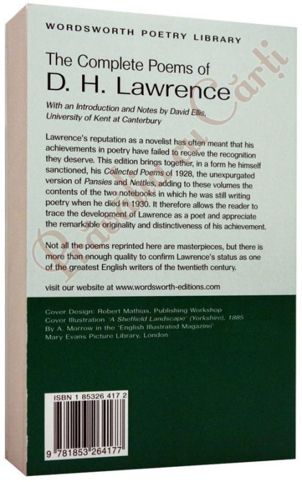 The Complete Poems of D.H.Lawrence 2
