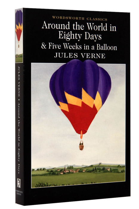 Around the World in Eighty Days & Five Weeks in a Balloon 0