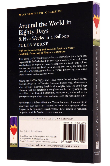Around the World in Eighty Days & Five Weeks in a Balloon 1