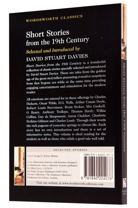 Short Stories from the Nineteenth Century 1