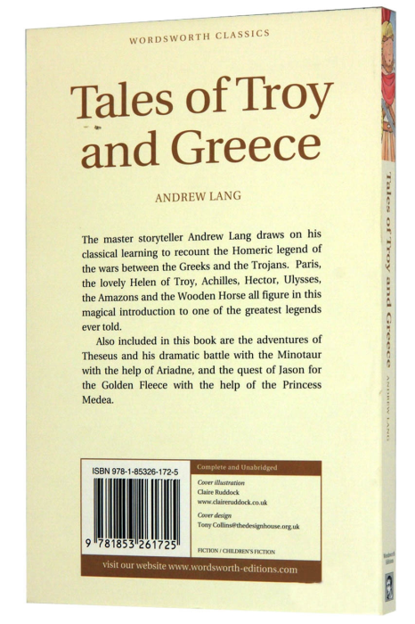 Tales of Troy and Greece 1