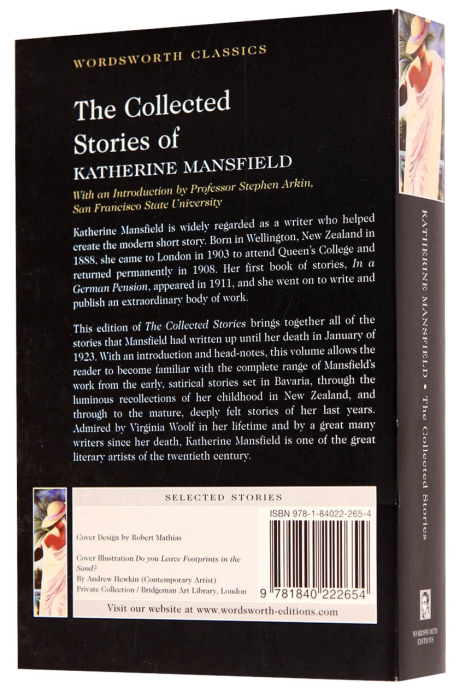 The Collected Stories of Katherine Mansfield 1