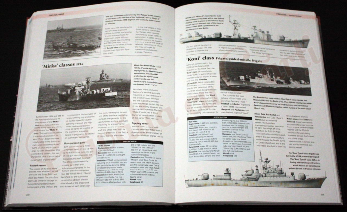 The Encyclopedia of Warships. From World War II to the Present Day 3