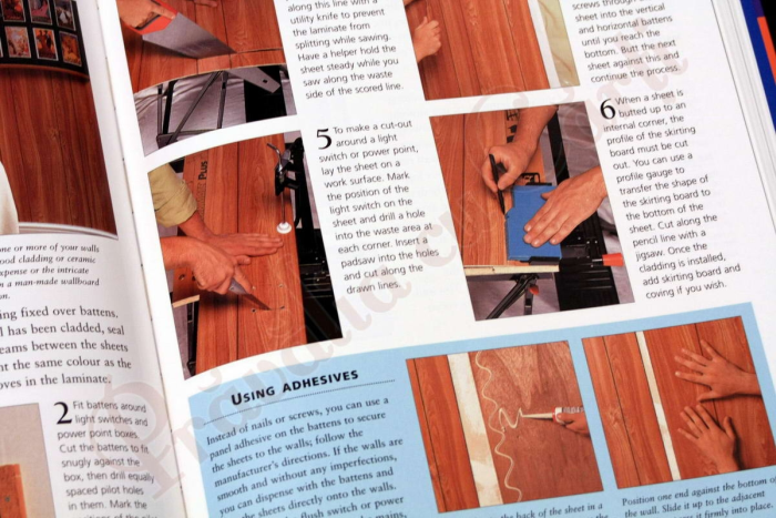 The essential book of Home Improvement Techniques 8