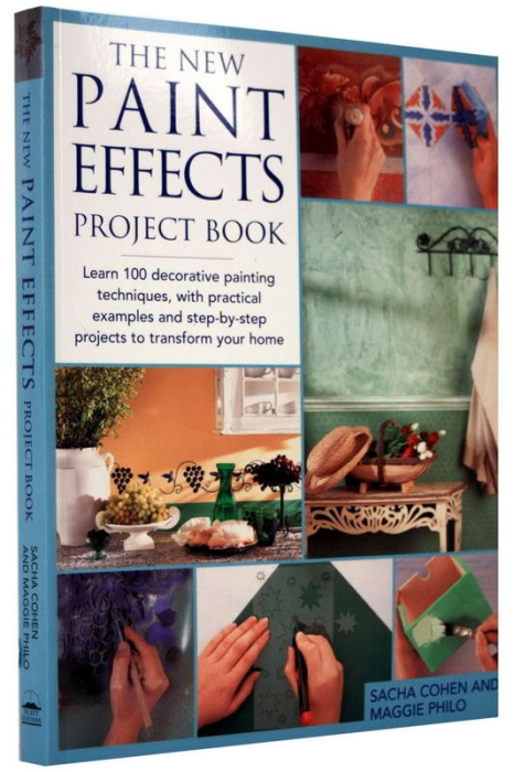 The new PAINT EFFECTS Project Book 1