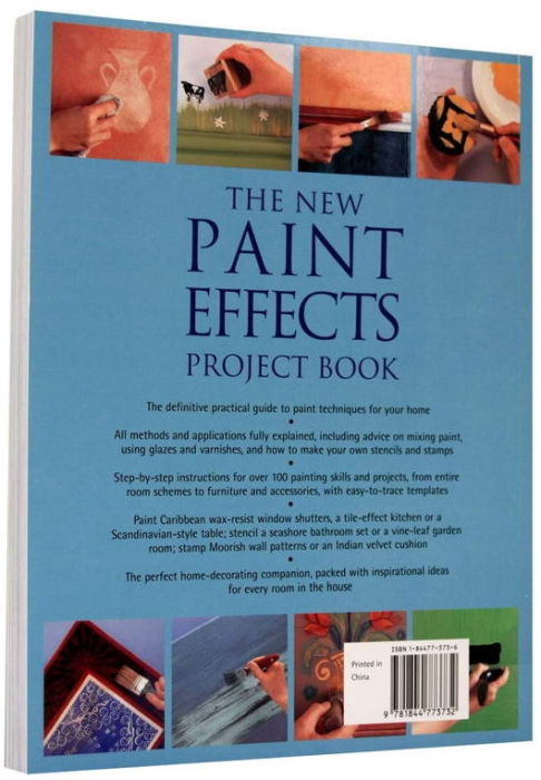 The new PAINT EFFECTS Project Book 7