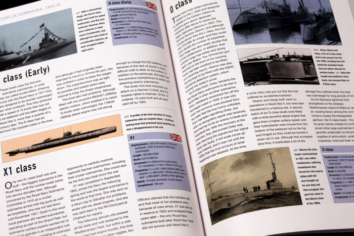 The Ilustrated World Guide to SUBMARINES 6